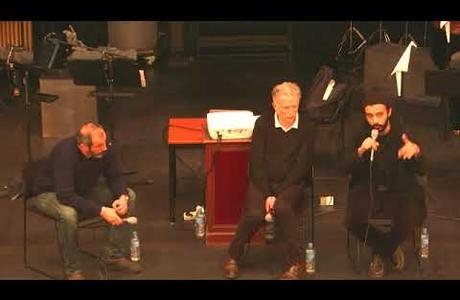 """conférence-débat """"architecture et banlieue"""" avec Patrick Bouchain, Karim Bel Kacem et Antoine Nochy<br />"""