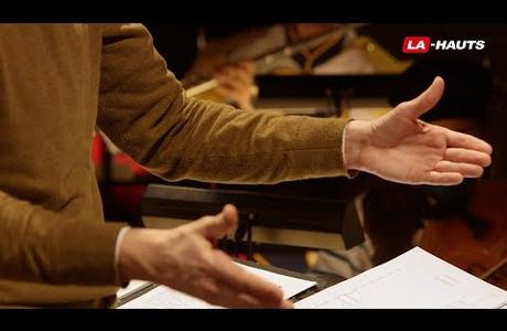 """Maxime Pascal : """"Qu'est-ce qu'être chef d'orchestre ?""""<br />© Là-hauts"""